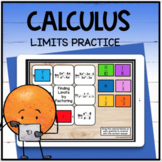 Calculus Limits Practice Digital Distance Learning