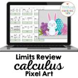 Calculus Limits Review Pixel Art