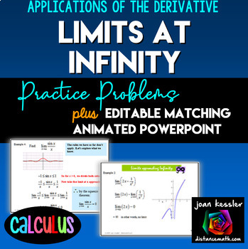 Calculus:  Limits at Infinity - Horizontal Asymptotes Powe