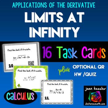 Calculus Limits at Infinity Horizontal Asymptotes Task Car