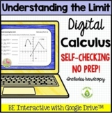 Calculus Limits by Graphs Quiz for Google™ Distance Learning