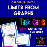 Calculus Limits from a Graph plus Notes and HW