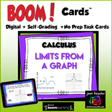 Calculus Limits from a Graph with BOOM Cards
