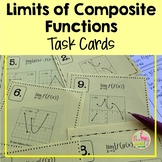 Limits of Composite Functions Task Cards (Unit 1)