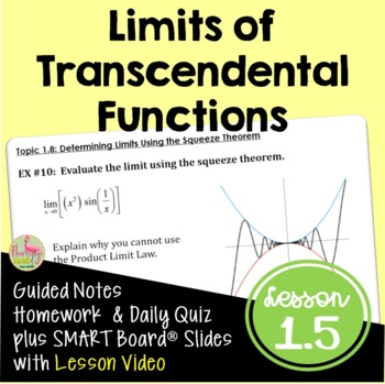 Limits of Transcendental Functions (Calculus - Unit 1)