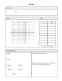 Calculus Link Sheet Package (12 Templates)