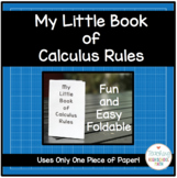 Calculus Little Book of Rules (Great mini book for AP Calculus)
