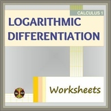 Calculus: LOGARITHMIC DIFFERENTIATION (24 problems - sol) - Distance Learning