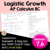Logistic Growth and Newton's Cooling Law (Calculus 2 - Unit 7)