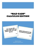 Calculus Mad Gabs - Review Activity