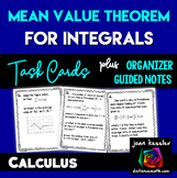 Calculus Mean Value Theorem of Integrals