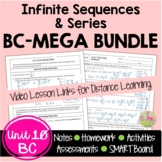 Infinite Sequences and Series MEGA Bundle (BC Calculus - Unit 10)