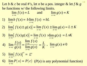 Calc Ch 1.3