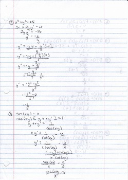 Calculus Packet #11b