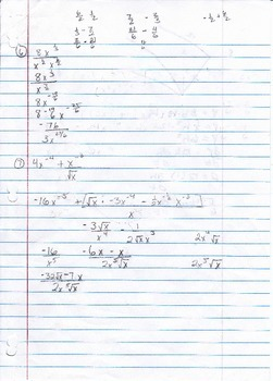 Calculus Packet #3