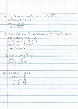 Calculus Packet #8
