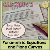 Parametric Equations and Plane Curves (Calculus 2 - Unit 9)