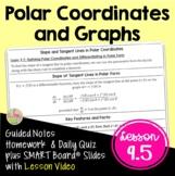 Polar Coordinates and Graphs (BC Calculus - Unit 9)