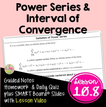 Calculus: Power Series and Interval of Convergence