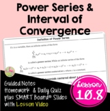 Power Series and Interval of Convergence (Calculus 2 - Unit 10)