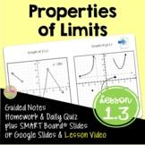 Calculus Properties of Limits (Unit 1)