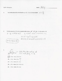 Calculus Quiz - Derivatives - Rules & Equation of Tangent