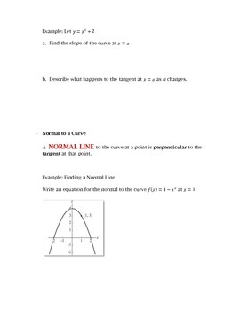 Calculus: Rates of Change and Tangent Lines