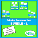 Calculus Scavenger Hunt Bundle #1