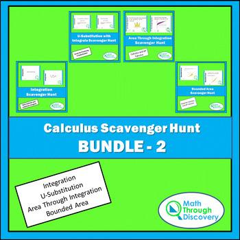 Calculus Scavenger Hunt Bundle - 2