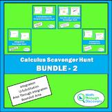 Calculus Scavenger Hunt Bundle  #2