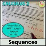 Sequences (Calculus 2 - Unit 9)