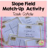 Calculus Slope Field Match Up Activity (Unit 7)