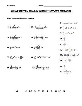 Calculus Substitution