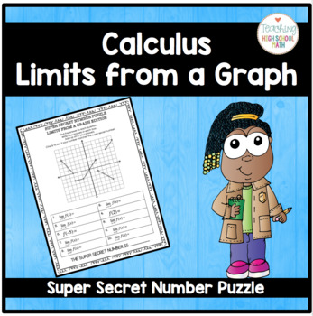 Calculus Super Secret Number Puzzle Limits from a Graph