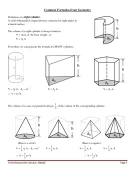 Tools Essential for Calculus