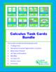 Calculus Task Card Bundle