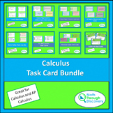 Calculus Task Card Bundle