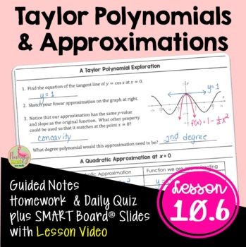 Calculus: Taylor Polynomials and Approximations