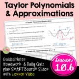 Taylor Polynomials and Approximations (Calculus 2 - Unit 10)