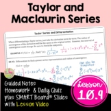 Taylor and Maclaurin Series (Calculus 2 - Unit 10)