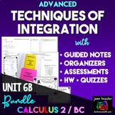 Calculus BC  Calculus 2  Techniques of Integration Bundle