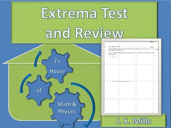 Calculus--Test and Review--Extrema