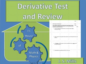 Calculus--Test and Review--The Derivative