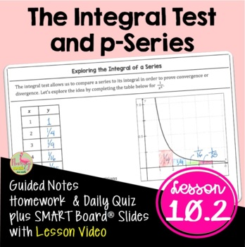 Calculus: The Integral Test and p-Series