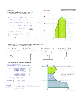 Calculus Trapezoid Rule Practice Test