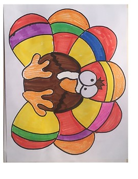 Calculus Turkey Coloring Activity