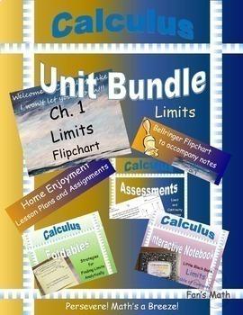 Calculus Unit Bundle 1: Limits