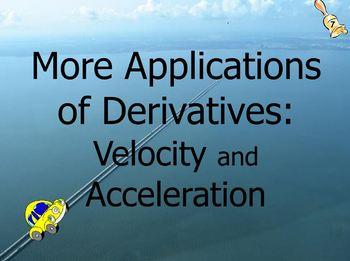 Calculus Ch. 2A: Definition of Derivative Unit Flipchart