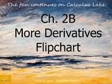 Calculus Ch. 2B: More Derivatives Unit Flipchart