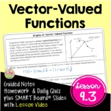 Vector-Valued Functions (Calculus 2 - Unit 8)